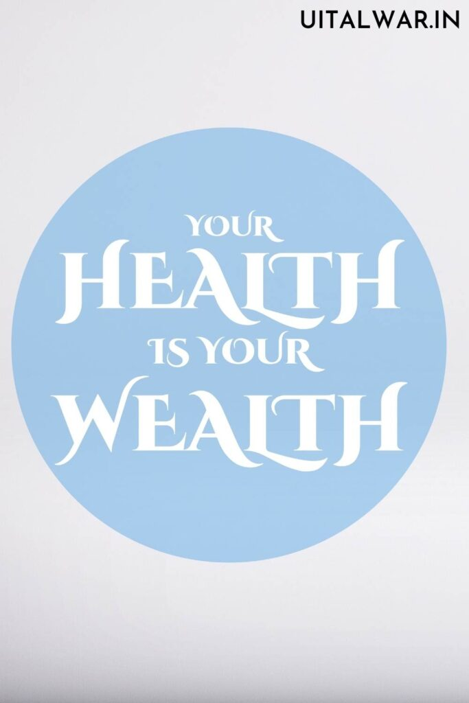 Essay on Health is Wealth in English for Students